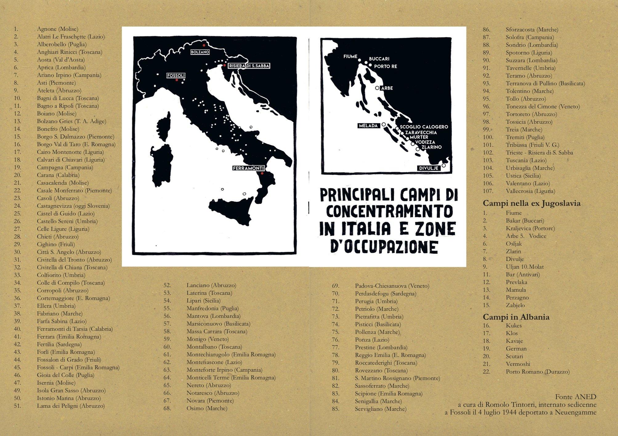 campi concentramento italia