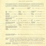 Documento CRI sulla deportazione di Maria Rudolf